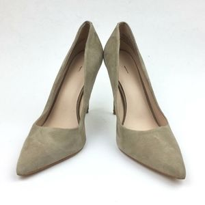 Something Navy Emma Pointed Toe Suede Pump…